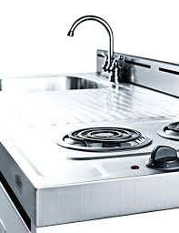one piece stainless steel sink and countertop a complete kitchen in one box commercial stainless steel