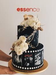 T156. Film Noir Cake — Sarah's Loft
