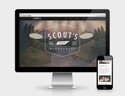 Barber Shop Website Scouts Barbershop Website Shipwreck Design