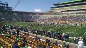 Notre Dame Football Seating Chart Rows Notre Dame Stadium Section 7 Rateyourseats Com
