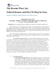 Pretty Best Federal Resume Writing Services Contemporary Entry