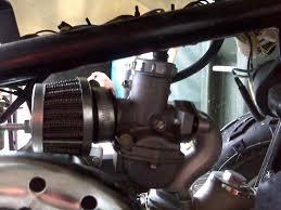 tao tao 110 carb adjustments 1 screw only atvconnection com atv how to clean a taotao carburetor at 110cc Atv Carburetor Diagram