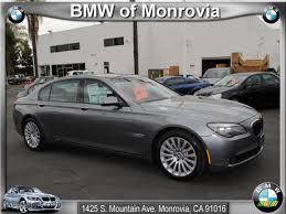 2009 BMW 7 Series 750Li Sedan in Space Grey Metallic - Y59102 ...