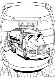 Hot Wheels 27 Transportation Printable Coloring Pages