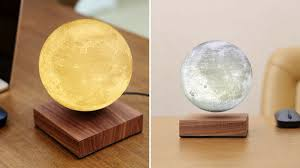 mercury may be in retrograde but this levitating moon lamp can light up your life