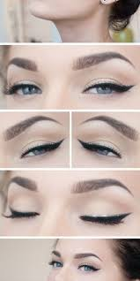 eyebrows playful simple liner
