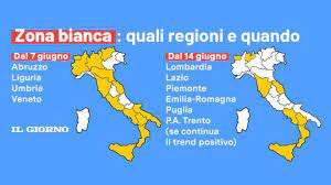 Zona bianca per altre 4 regioni da oggi 7 giugno. La data della Lombardia -  Cronaca - ilgiorno.it