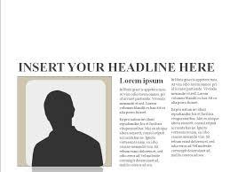 Online Newspaper Template Newspaper Template Online Free Best Business Template 11
