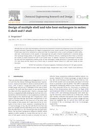 Research Paper On Heat Exchanger Design Pdf Design Of Multiple Shell And Tube Heat Exchangers In