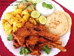Tandoori Lamb Chops Fauzias Kitchen Fun