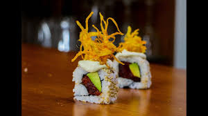 Spicy Tuna Sushi Roll Recipe - YouTube