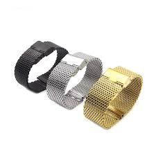 online get cheap 18mm mesh watch band aliexpress com alibaba group 1piece selling 1mm diameter men stainless steel mesh watch bands watch straps 18mm 20mm 22mm 24mm