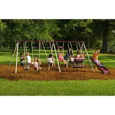 Big Backyard Windale Playset From Toys R Us Installed In Union NJ Big Backyard Ashberry Wood Swing Set