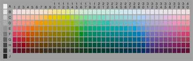 Munsell Color Chart Test Pin On Color Communications