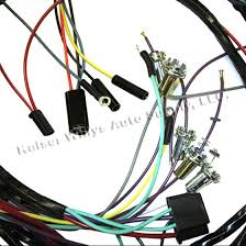 complete wiring harness made in the usa fits 66 71 cj 5 v6 more views