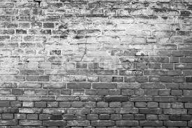 Ancient brickwall background, black/white, stock photo