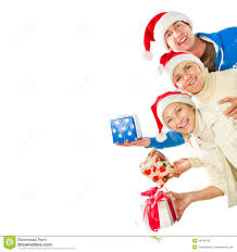 Christmas Family Photo Christmas Family With Gifts Royalty Free Stock Photos Image