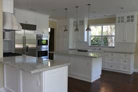 Small Picture Kitchen White Cabinets With Granite Countertops And Dark Floors