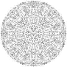Coloriage Adulte A Imprimer Mandalas Zentangle Pinterest