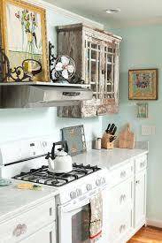 shabby chic kitchen wallpaper fabulous kitchens that bowl you over salvaged  cabinets and antique finds for . shabby chic kitchen ...