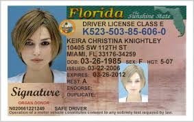 Florida 306550 Templates - Station State 27 License Drivers Template Download Of