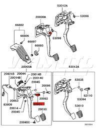 viamoto mitsubishi car parts clutch switch cruise control mitsubishi part number