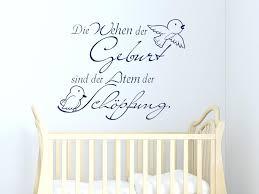 Wandtattoo Spruch Die Wehen Der Geburt Babyzimmer Kinderzimmer