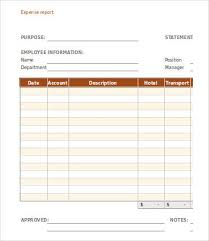 Weekly Expense Report Template Download Expense Report Template