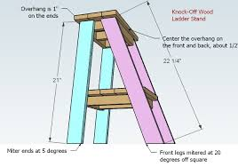 ladder table plans free and easy diy project and furniture plans