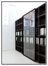 large size of harrison 2 pc cognac 36 bookcase with glass doors black glass door bookcase