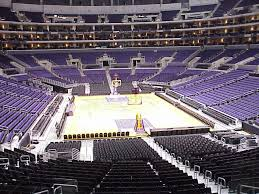 Lakers Seating Chart View Rare Staples Center Lakers Seating View Los Angeles Lakers