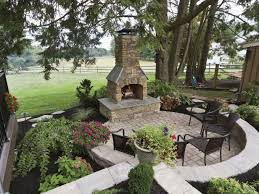 create the ultimate outdoor fireplace setting with this outdoor stone patio plans