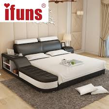 Name:IFUNS luxury bedroom furniture modern design king&queen size ...