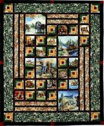 Panel Quilt Patterns Simple 48 Best Quilting With Panels Images On Pinterest Panel Quilts