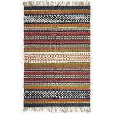 fab habitat hand woven natural jute area rug rugs from india