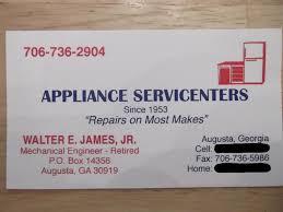 appliance repair augusta ga. Exellent Augusta Appliance Service Centers Augusta GA In Repair Ga P