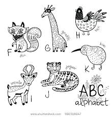 Alphabet Coloring Pages Az Pdf Bestlink Zoo Pages Alphabet Coloring
