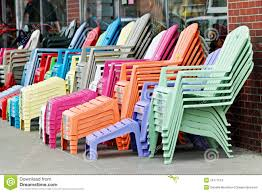 chair and stool color modern plastic colored adirondack with royalty free stock images colorful adirondack