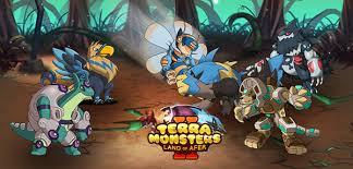 Terra Monsters Evolution Chart 2019