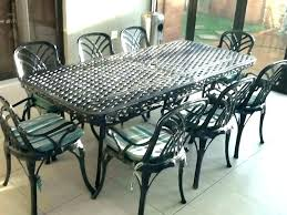 60 inch round wrought iron outdoor dining tables furniture sets patio table ou