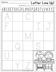Kindergarten Letter Recognition Worksheets for all | Download and ...