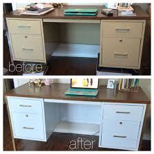 diy metal furniture. DIY Metal Desk Makeover | White+Gold Diy Furniture U