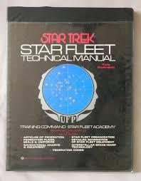 Star Trek Star Charts Book Star Trek Star Fleet Technical Manual