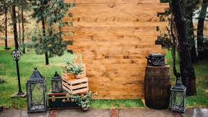 feature rustic theme backdrop diy photo booth ideas for your next shindig