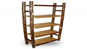log bookcase rustic log shelves rustic timber log wall