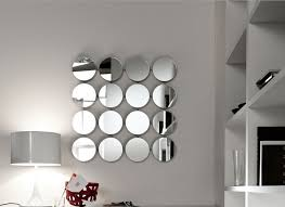Small Picture ideas to use a round mirror in a large living room