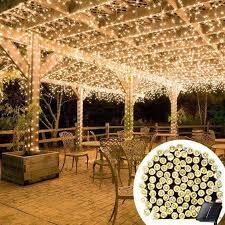 outdoor lighting for pergolas. solarpowered led fairy lights 55 ft outdoor lighting for pergolas
