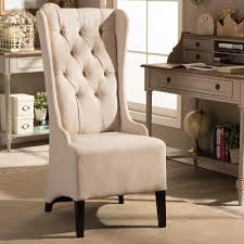 living room accent chairs. Brilliant Accent Baxton Studio Vincent Beige Fabric Upholstered Accent Chair Throughout Living Room Chairs