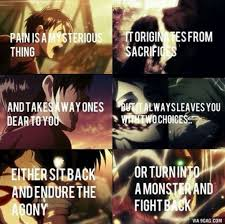 Badass Love Quotes Interesting Relatable Badass Anime Quotes Anime Amino