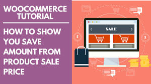 Product And Price Woocommerce Tutorial How To Show You Save Amount From